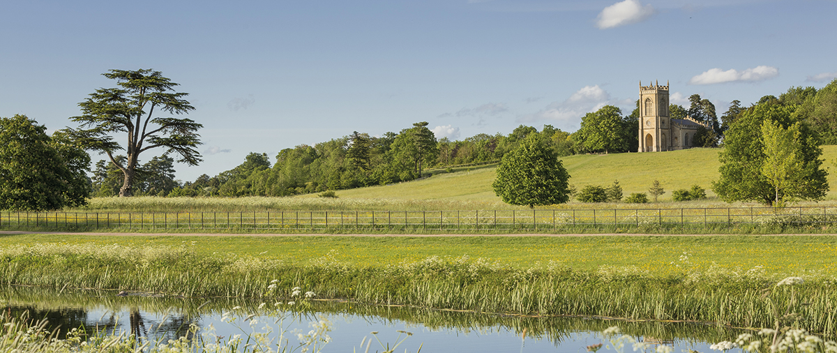 The landscape at Croome